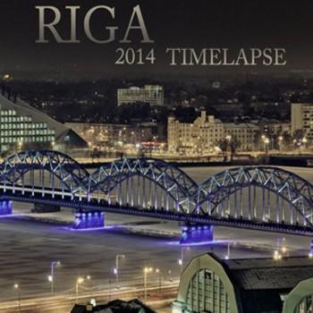 Riga 2014 Timelapse