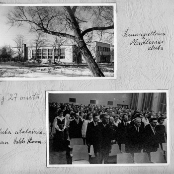 Madlienas kultūras nama atklāšana 1965