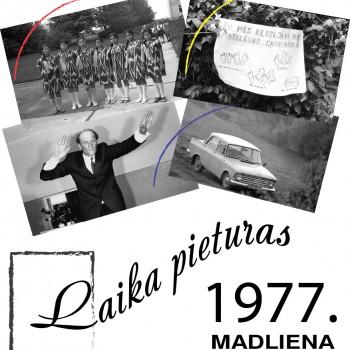 Laika pieturas-Madliena 1977