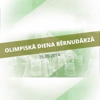 Olimpiskā diena Madlienas bērnudārzā