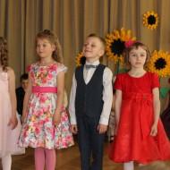 """Bērnudārza izlaidums, Grupiņa """"Saulespuķe"""""""