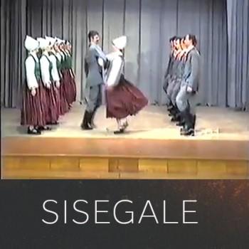 """Dejo vidējās paaudzes deju kolektīvs """"Sisegale"""""""
