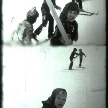 Slēpošanas stunda 1982.gadā