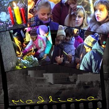 Latvijas neatkarības proklomēšanas dienai veltīts svinību brīdis 1994