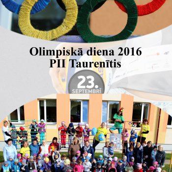 Olimpiskā diena 2016 PII Taurenītis