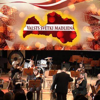 """Valsts svētki Madlienā- Vidzemes kamerorķestra koncerts """"Vērtības nezūd…"""""""
