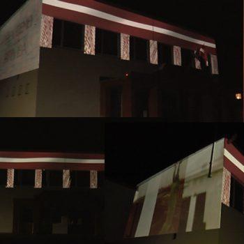 Staro Madlienas kultūras nams Latvijai 100