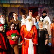 """Ziemassvētku uzvedums Madlienas vidusskolā """"Pārgājiens līdz Āfrikai"""""""