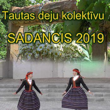 """Tautas deju kolektīvu """"Sadancis 2019"""" Ķeipenē"""